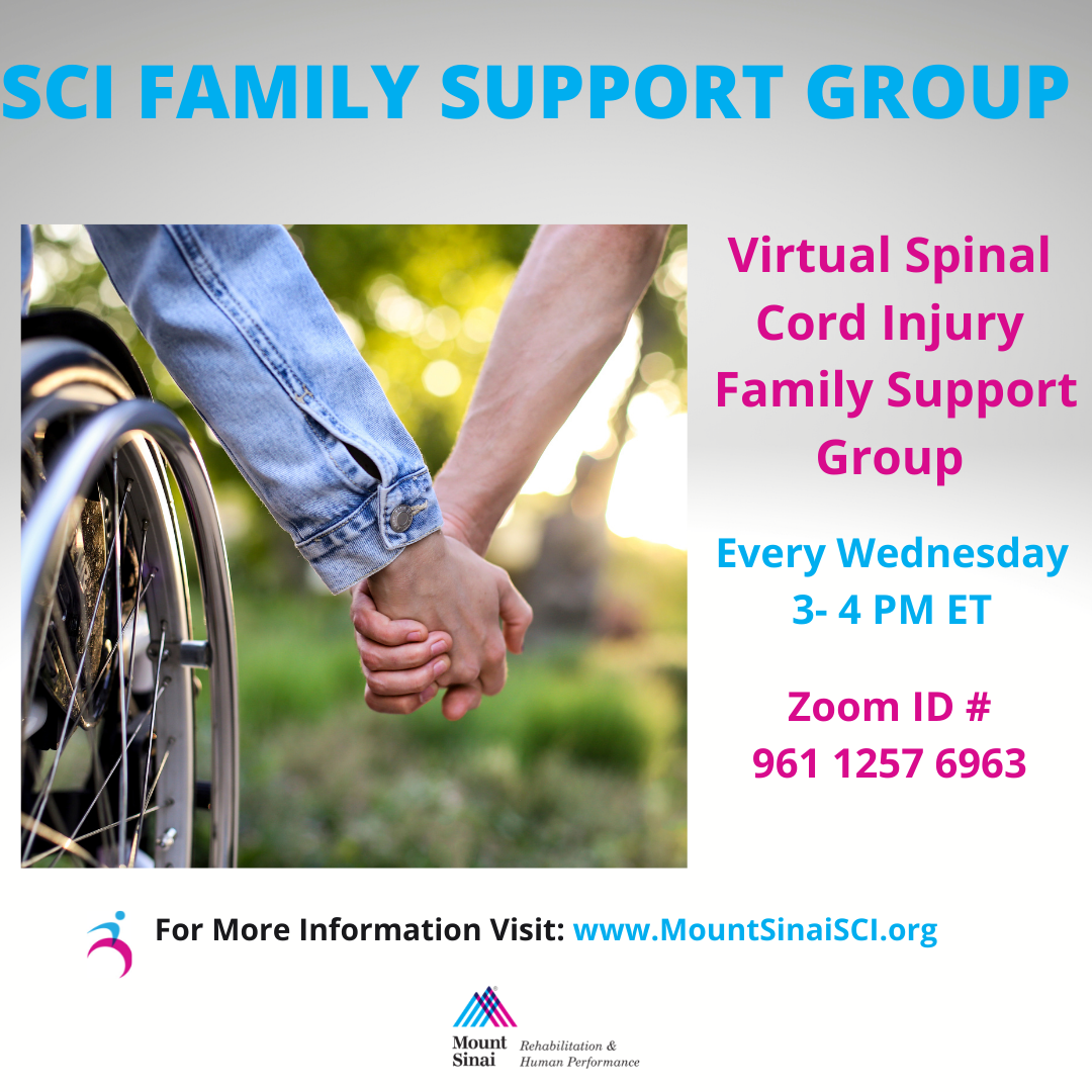 Family Support Group @ ZOOM ID# 961 1257 6963