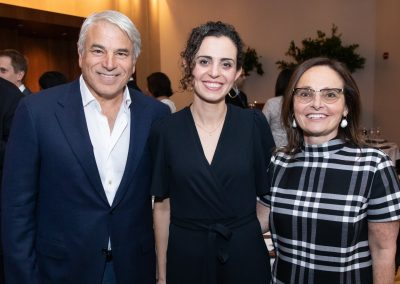 Dr. Harony-Nicolas celebrates her 2019 Friedman Brain Institute Fascitelli Research Scholar Award with Michael and Elizabeth Fascitelli