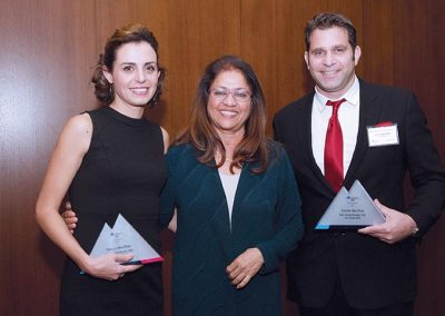 Dr. Harony-Nicolas together with Dr. Zangi receive the Faculty Idea Prize at Mount Sinai's 2017 Innovation Awards