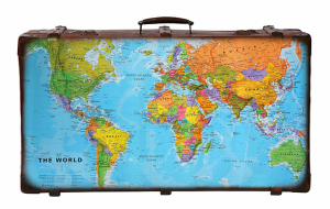 Suitcase with Map_sm